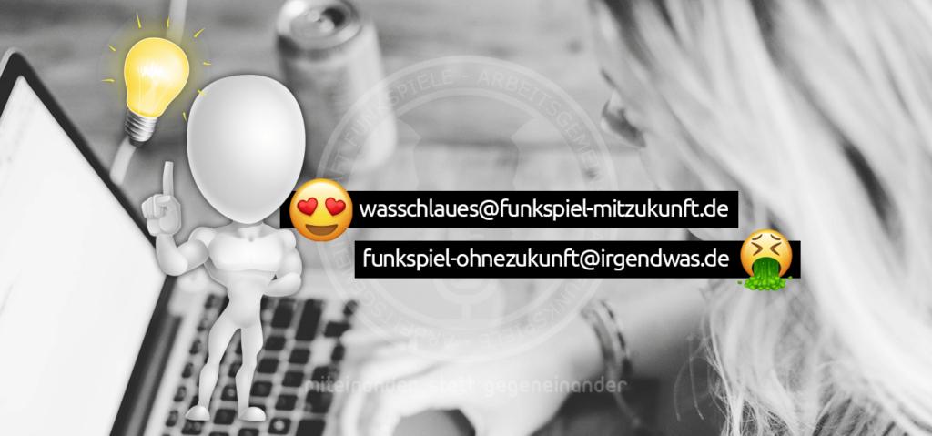 AG Funkspiele - EMail Domain